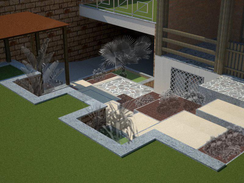 Sistemazione esterna for Sistemazione giardino